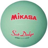 ミカサ(MIKASA) ソフトドッジボール2号 STD-2R G ドッヂボール 2号 小学生用
