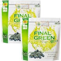 ファインラボ(FINE LAB) 健康食品 ファイナルグリーン 300g FLGR 2個セット 栄養補助食品 青汁 大麦若葉 ケール