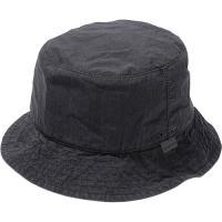 スノーピーク(snowpeak) メンズ インディゴバケットハット Indigo C/N Bucket Hat ブラック UG-780 BK 帽子 カジュアル ストリート アウトドア 黒