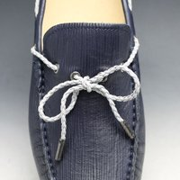 MODELLO(モデロ)/牛革ドライビングシューズ/DM2020(ネイビー)/3E幅広/マッケイ製法/エピ型押し/メンズ 靴