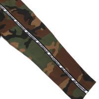SUPREME(シュプリーム) Tape Stripe L/S Pique Top (ピケ)(長袖Tシャツ) WOODLAND CAMO 203-000260-045+【新品】(TOPS)