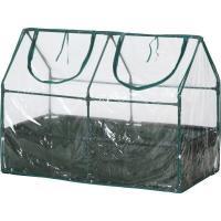 プランターや家庭菜園花壇にかぶせて冬の寒風、霜から植物を守るビニール温室セットです。 アンダーカバー...