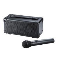 会議や講義、イベントなどで手軽に使えるワイヤレスマイク付き拡声器スピーカー。MM-SPAMP4 サン...