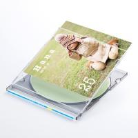 スリムDVD・CDケース用カード。便利なケース用背ラベル付。顔料対応。