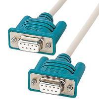 RS-232C ケーブル RS-232Cポートを持つ機器を接続するためのケーブルです。 【ケーブル】...