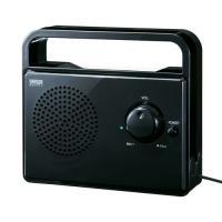 テレビの音を手元・耳元ではっきり聴くための手元スピーカー。5mの超ロングケーブル採用。