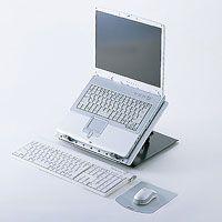 【アウトレット理由】 ※パッケージ不良  ノートパソコンを見やすい角度に調節できる、回転機能付ノート...