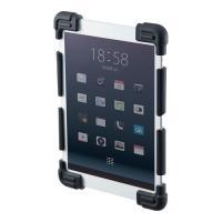着脱簡単で衝撃からタブレットを守る耐衝撃シリコンケース。8.9〜11.6インチ・ブラック。PDA-T...