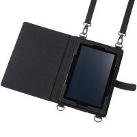 工場やオフィスにおけるタブレットPCの利用に最適なケース。身体に掛けられるショルダーベルト付き。