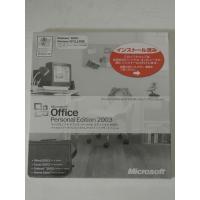 [開封品] Microsoft Office Personal 2003 日本語 OEM版 送料無料...