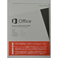 [開封品] Microsoft Office Home and Business 2013 日本語 ...