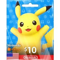 【メール通知】Nintendo eshop Card $10 ニンテンドー eショップ 10ドル 北米ストア
