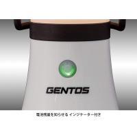 GENTOS(ジェントス)LEDランタン明るさ370ルーメン/実用点灯9時間/防水EX-136SAN...