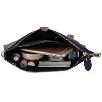 ヤラックス ハンドバッグ レディースファッション カバン YALUXE Women's Large Capacity Real Leather Smartphone Wristlet Wallet Small Crossbody Bag