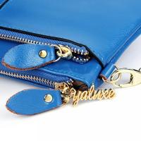 ヤラックス ハンドバッグ レディースファッション カバン YALUXE Women's Large Capacity Leather Smartphone Wallet with Shoulder Strap 正規輸入品