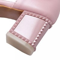 ヴォーグ ゾーン 009 レディース 靴・シューズ ヒール パンプス VogueZone009 Women's Soft Material Buckle Pointed Closed Toe Kitten Heels Pumps Shoes