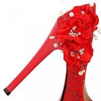 ヴォーグ ゾーン 009 レディース 靴・シューズ ヒール パンプス VogueZone009 Women's Round Closed Toe Spikes Stilettos Blend Materials Solid Pumps Shoes