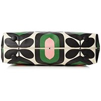 オーラカイリー バッグ 最新 ハンドバック Orla Kiely Stripe Tulip Print Classic Zip Shoulder Bag