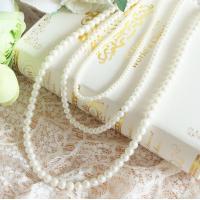 パールネックレス ネックレス パール アクセサリー 結婚式 冠婚葬祭 フォーマル パーティー パーティ 葬儀 入学式 入園式 卒業式