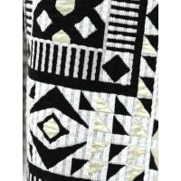 Dress apt.(ドレスアプト)綿ポリエステル ジオメトリック柄 ギャザースカート・10747-1991601・レディース