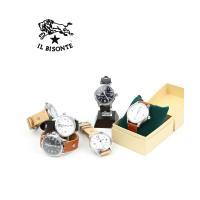 IL BISONTEより、クォーツ式のレザーベルト腕時計が入荷しました。 クラシカルなラウンドフェイ...
