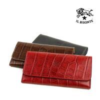 濡れたような艶感のある仕上がりが大人の気品を漂わせる型押しレザーアイテムから、新作の長財布が登場しま...