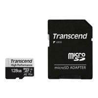 マイクロSDカード トランセンド TS128GUSD330S [128GB microSDXC 330S UHS-I U3、V30、A2 対応]