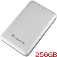 ポータブルSSD トランセンド TS256GSJM500 [StoreJet 500 Thunderbolt/USB 3.0対応 ポータブルSSD 256GB]