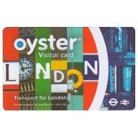 ロンドンでの移動を「スマート」にしてくれる、ロンドンの地下鉄やバスなどの公共の交通機関で有効のリチャ...