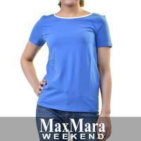 マックスマーラ ウィークエンド Tシャツ MAXMARA WEEKEND MULTIA 59710287 ブルー