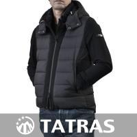 タトラスのダウンジャケット ブラック TATRAS MTA19A4570 BLEGGIO 19 ナイ...