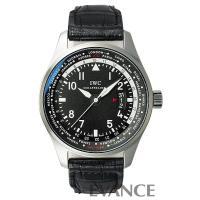 IW326201 ブラック パイロット ワールドタイマー IWC