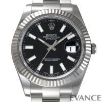 Ref.116334 ブラック バー デイトジャストII ROLEX ロレックス