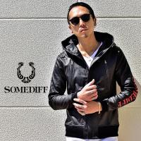 ライダースジャケット メンズ PUレザー パーカー フェイクレザー ブラック 黒 ストリート ストリート系 ストリートファッション ブランド 大きいサイズ LL XL