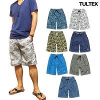 ボタニカル柄、カモフラ迷彩、幾何学パターンなどトレンドを押さえたカラフルな全7色展開の「TULTEX...