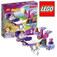 """レゴ デュプロ 10822 ちいさなプリンセス ソフィア""""まほうの馬車"""" ブロック玩具 知育玩具 L..."""
