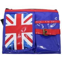 イギリスの国旗をモチーフにしたシザーバッグです。ミニショルダー、ウォエストポーチの2通り使用可能な2...