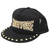 メッシュキャップ 帽子 メンズ レディース フロントにヒョウ柄刺繍がデザインされたBBキャップです。...