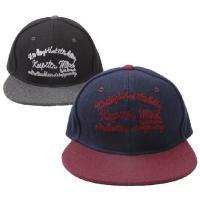 ベースボールキャップ 帽子 メンズ レディース 暖かみのあるウール混のフランネル素材を使用したBBキ...