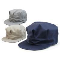作業帽 作業帽子  軽くてお手軽な八角作業帽子が登場! 通気性の良いサラッとした質感の生地を仕様して...
