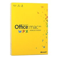 【商品名:】Office for Mac Home and Student 2011★ファミリーPK...