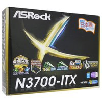 【商品名:】ASRock製 Mini ITXマザーボード■N3700-ITX■ / 【商品状態:】動...