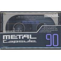 【商品名:】maxell■カセットテープ Metal Capsule■90分■未開封 / 【商品状態...