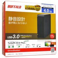 【商品名:】BUFFALO 外付HDD■DriveStation HD-LC4.0U3-BKD■4....