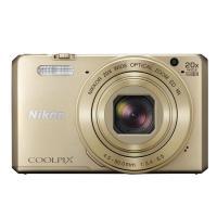 【商品名:】Nikon製■デジカメ COOLPIX S7000■ゴールド/1602万画素■未開封 /...