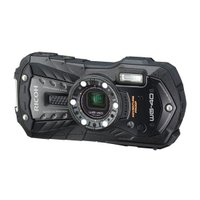 【商品名:】RICOH■防水デジタルカメラ WG-40 ブラック/1600万画素■未開封 / 【商品...