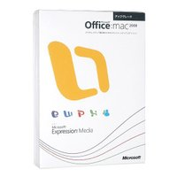 【商品名:】Office 2008 for Mac with Expression Media★UP...