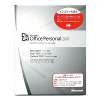 【商品名:】Office Personal 2007★OEM版★メモリセット / 【商品状態:】OE...