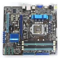 【商品名:】ASUS製MicroATXマザーボード★P7H55-M★LGA1156対応● / 【商品...