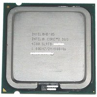 【商品名:】Core 2 Duo E4300★1.8GHz FSB800MHz LGA775★SL9...